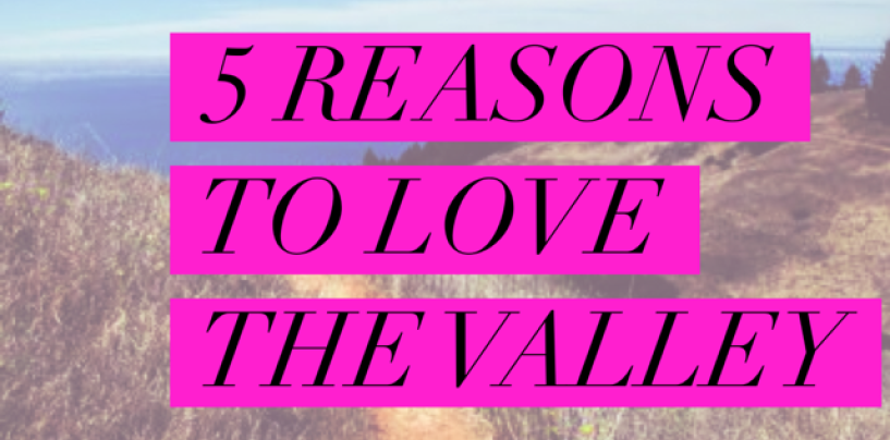 5 Reasons You Should Love The Valley